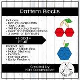 Pattern Blocks - Foods - Fruit