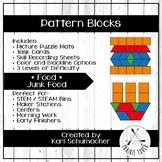 Pattern Blocks - Foods - Junk Foods