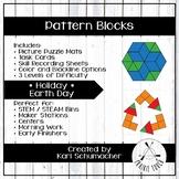 Pattern Blocks - Holiday - Earth Day