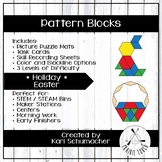 Pattern Blocks - Holiday - Easter