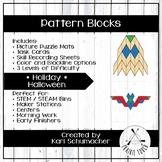Pattern Blocks - Holiday - Halloween