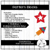 Pattern Blocks - Holiday - Independence Day