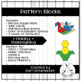 Pattern Blocks - Holiday - Thanksgiving