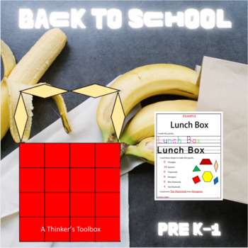 Pattern Blocks Lunch Box Puzzles
