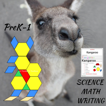 Pattern Blocks Mammals Puzzles
