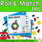 Pattern Blocks Mat Fall Math Games
