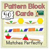 Pattern Blocks Math Center | Fits Manipulatives Exactly |