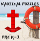 Pattern Blocks Nautical Puzzles