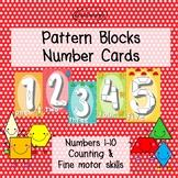 Pattern Blocks Number Cards 1-10
