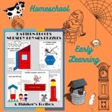 Pattern Blocks Nursery Rhymes Puzzles