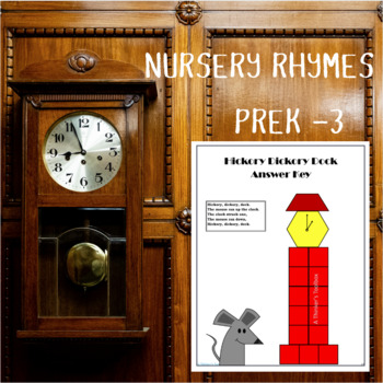 Math & Reading Nursery Rhymes Puzzles