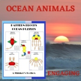 Pattern Blocks Ocean Puzzles
