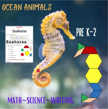 Pattern Blocks Ocean Puzzles