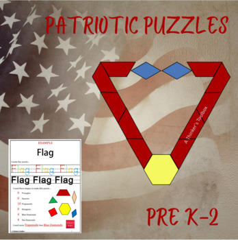 Pattern Blocks Patriotic Puzzles