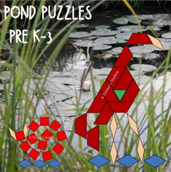 Pattern Blocks Pond Life Puzzles