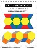 Pattern Blocks - Printable Template
