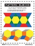 Pattern Blocks - Printable Template