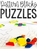 Pattern Blocks Puzzles - 88 Leveled Puzzles