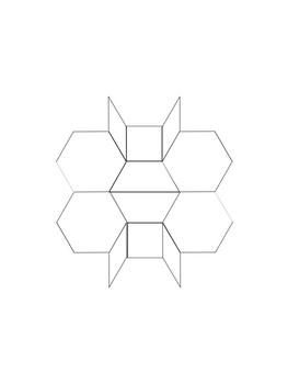 Pattern Blocks Puzzles - 88 Leveled Puzzles