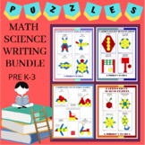 Pattern Blocks Puzzles Bundle