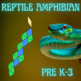 Pattern Blocks Reptiles and Amphibian Puzzles