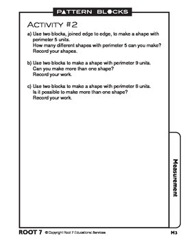 Pattern Blocks - Samples