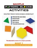 Pattern Blocks - Samples