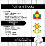 Pattern Blocks - Seasons - Fall