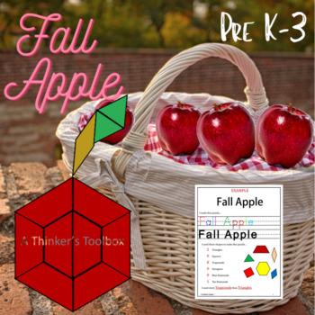 Pattern Blocks Seasons Puzzles