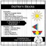 Pattern Blocks - Seasons - Summer