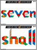 Pattern Block Sight Words | Pattern Block Templates BUNDLE