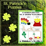 Pattern Blocks St. Patrick's Puzzles