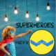 Pattern Blocks Superhero Shields Puzzles