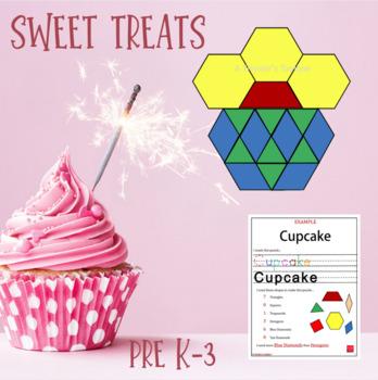 Pattern Blocks Sweet Treats Puzzles