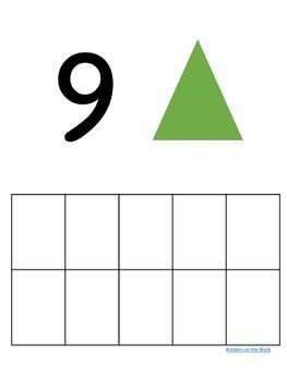 Pattern Blocks Ten Frames