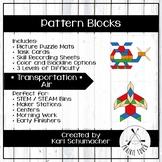Pattern Blocks - Transportation - Air
