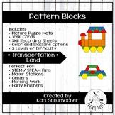 Pattern Blocks - Transportation - Land