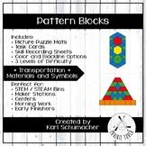Pattern Blocks - Transportation - Materials and Symbols