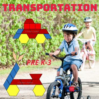 Pattern Blocks Transportation Puzzles