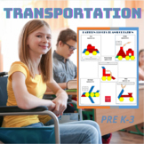 Pattern Blocks Transportation Puzzles