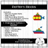 Pattern Blocks - Transportation - Water