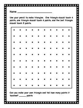 Pattern Blocks and Geoboards
