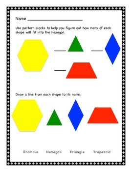 Pattern Blocks and Geoboards