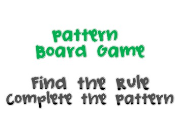 Pattern Board Game