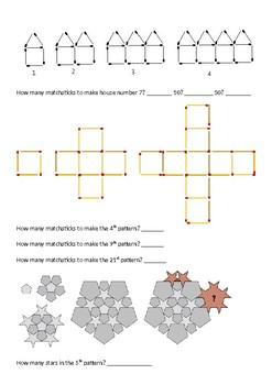 Pattern Booklet/Pretest - Upper Elementary/Primary