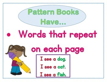 Pattern Books Anchor Chart