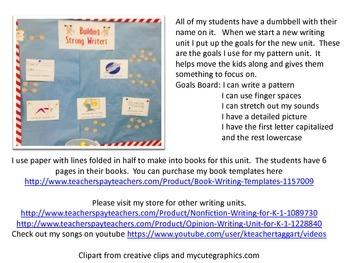 Writing Pattern Books Unit