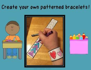 Patterned Bracelets!
