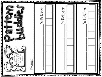 Pattern Buddies --- Student-Made Patterns --- Pattern Math Center