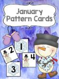 Pattern Calendar Cards (January)